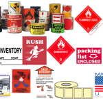 Stock shipping Labels and Custom Labels Los Angeles