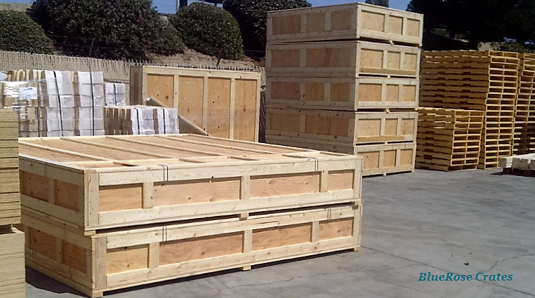 Custom Wood Crates and fabricated Foam Inserts